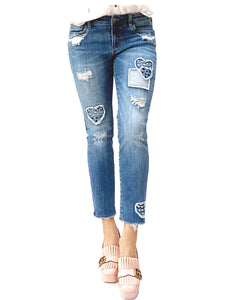 Patch My Heart Jeans