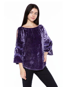 Velvety Off Shoulder Top