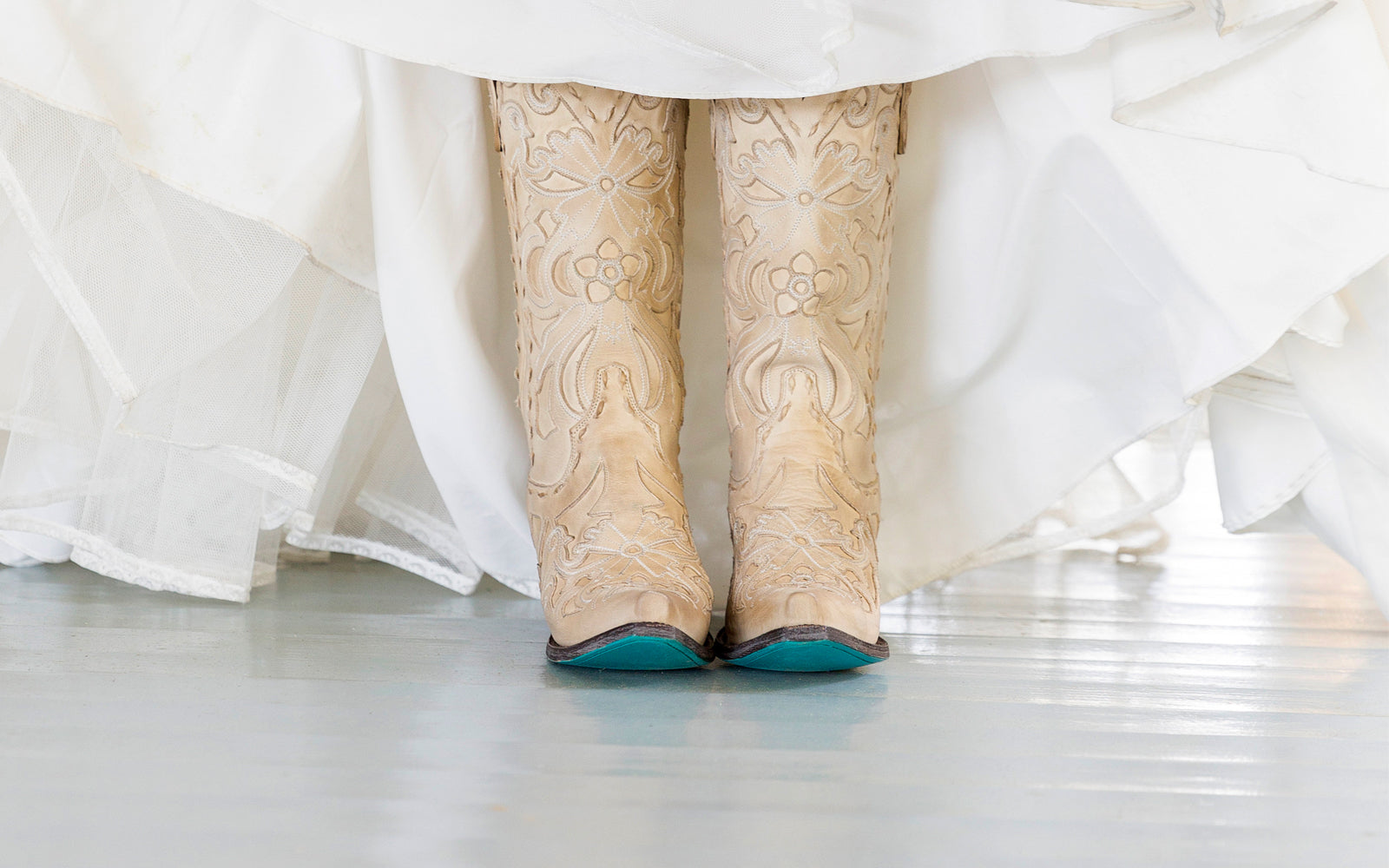 Color Trends that Enhance Your Bridal Boots