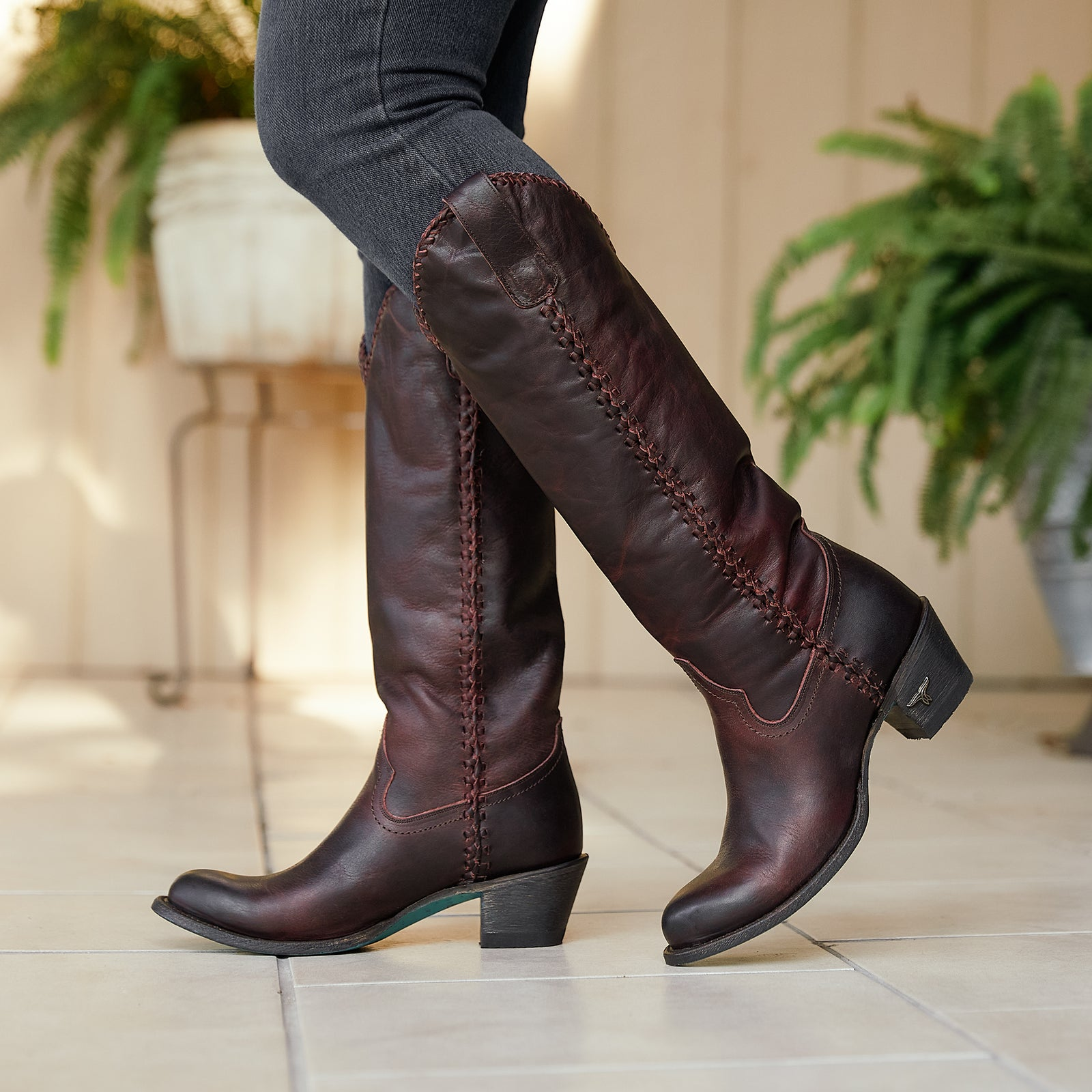 Shop for Womens Leather Boots Footwear