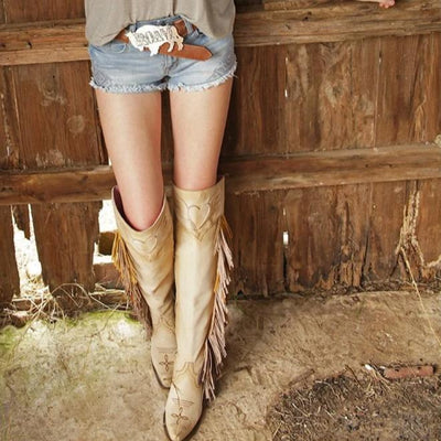 Junk Gypsy The Spirit Animal Ladies Boot Western Contemporary Boots Handmade by Lane