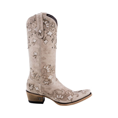 Lane Sweet Paisley Boot Ladies Boot Western Contemporary Boots Handmade by Lane