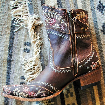 Lane Landrun Gardens Ladies Bootie by Lane Handmade Boots
