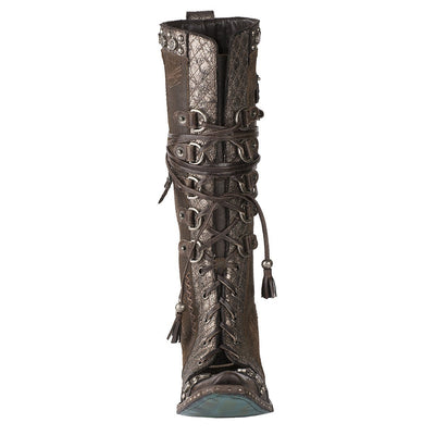 Lane Direct Loaded Outrider Ladies Boot Western Contemporary Boots Handmade by Lane