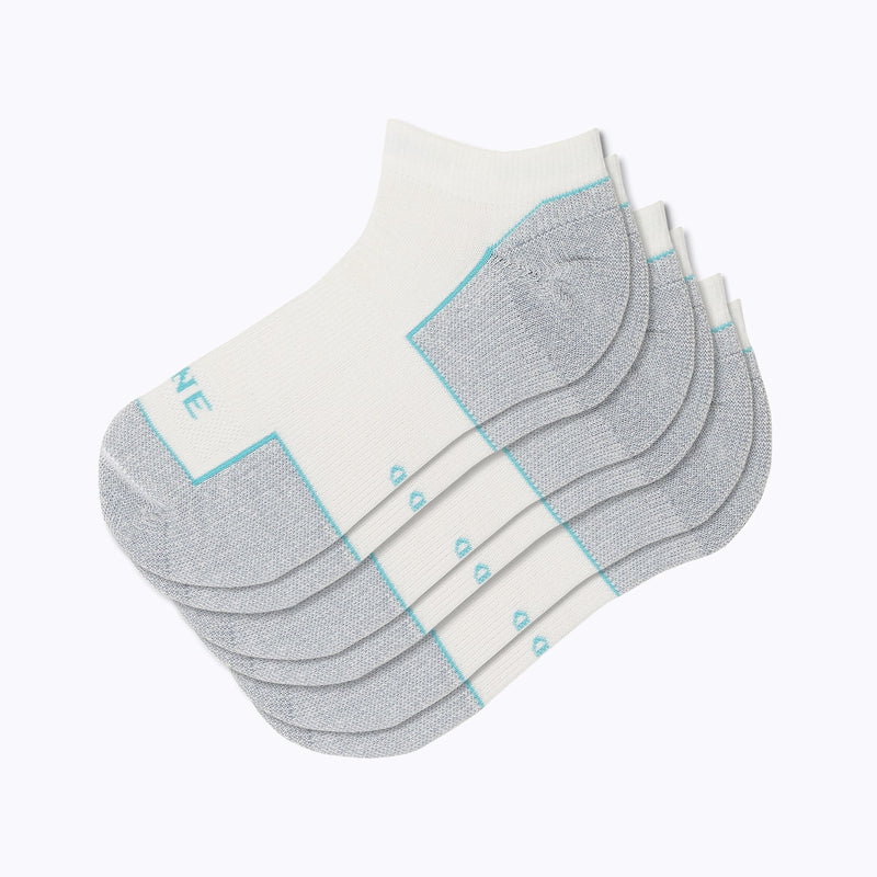 Everyday 3 Pack Women's Ankle Socks - White by Canyon x Lane Socks