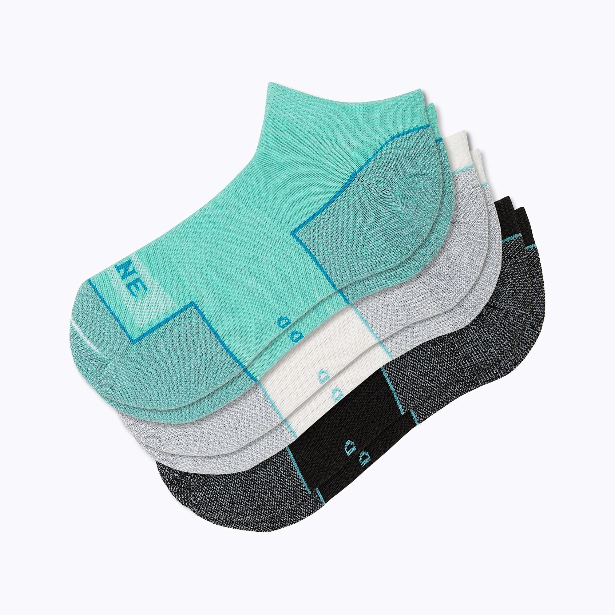 Everyday 3 Pack Mix Women's Ankle Socks - Mix by Canyon x Lane Socks