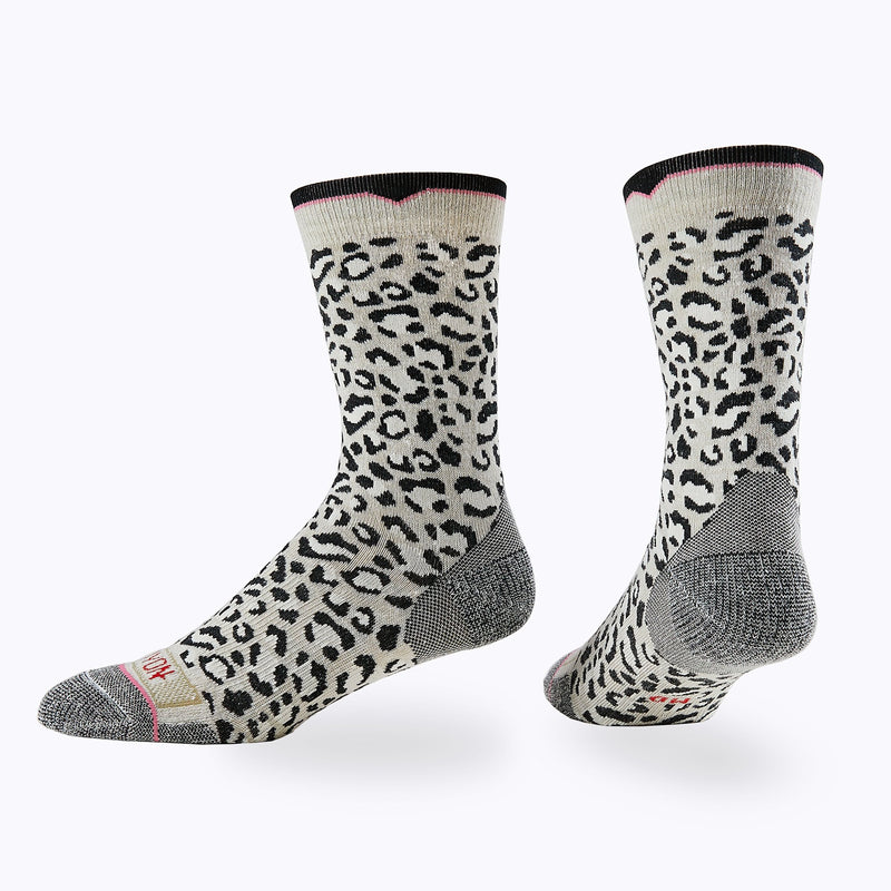 Leopard Women's Crew Socks -  by Canyon Socks
