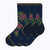 Floral Point 3 Pack Women's Crew Socks - Navy by Canyon Socks
