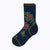 Floral Point Women's Crew Socks - Navy by Canyon Socks