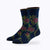 Floral Point 2 Pack Mix Women's Crew Socks -  by Canyon Socks