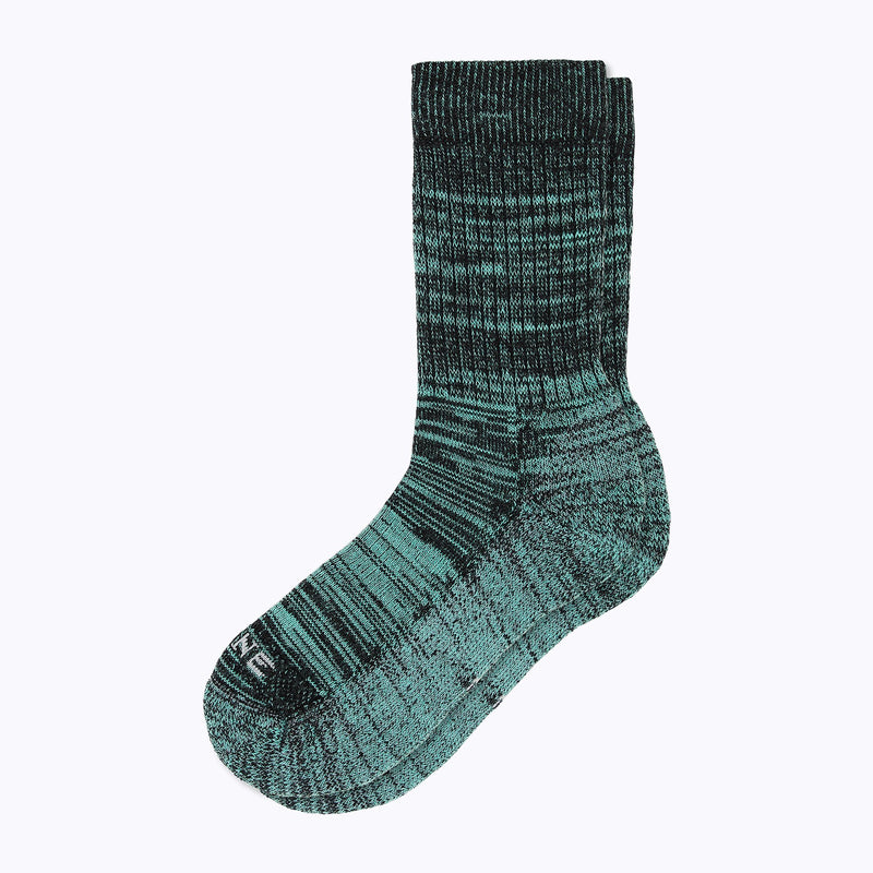 Kelsey Women's Crew Socks - Turq + Black by Canyon x Lane Socks