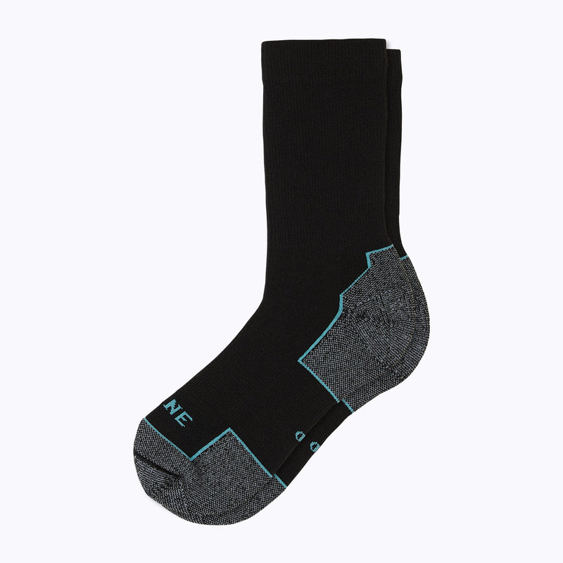 Everyday Women's Crew Socks - Black by Canyon x Lane Socks