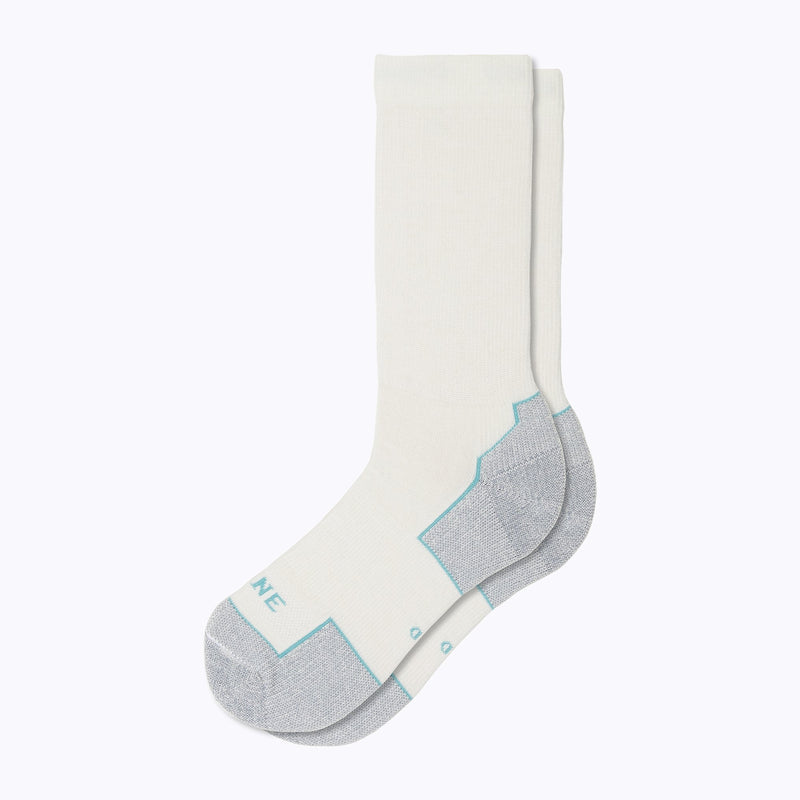 Everyday Women's Mid-Calf Socks - White by Canyon x Lane Socks