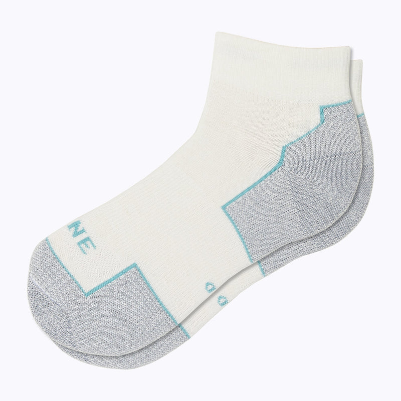 Everyday Women's Qtr Socks - White by Canyon x Lane Socks