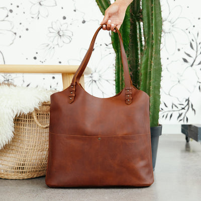 Lane Ariana Pocket Bag Cinnamon Western Handbag