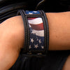 Old Glory Cuff Accessories | Size Distressed Jet Black One Size Lane | Lane Boots