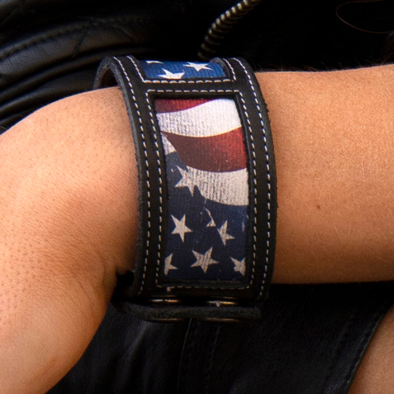 Lane Old Glory Cuff Accessories by Lane Handmade Boots