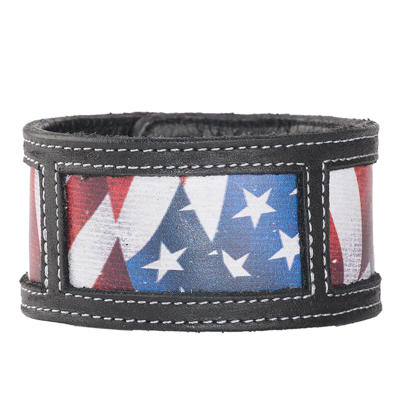 Lane Old Glory Cuff Accessories Western Contemporary Boots Handmade by Lane