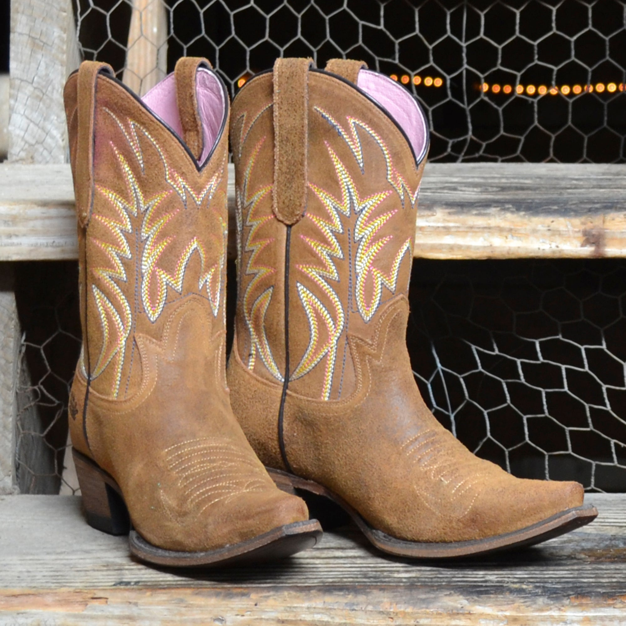 Junk Gypsy Dirt Road Dreamer Ladies Boots by Lane Handmade Boots