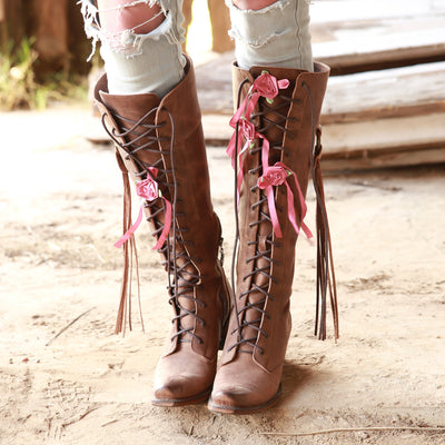 Junk Gypsy Trailblazer Ladies Boot by Lane Handmade Boots