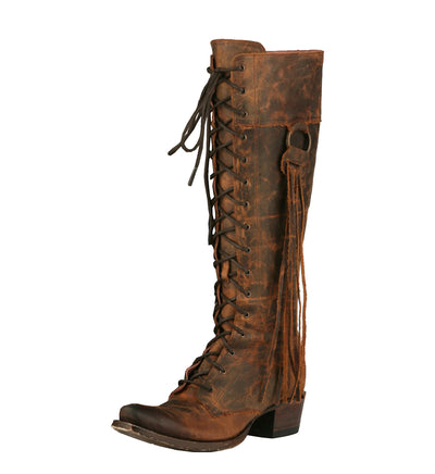 Junk Gypsy Trailblazer Ladies Boot Western Contemporary Boots Handmade by Lane