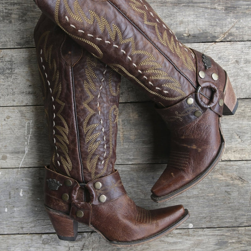 Junk Gypsy The Vagabond Ladies Boot by Lane Handmade Boots