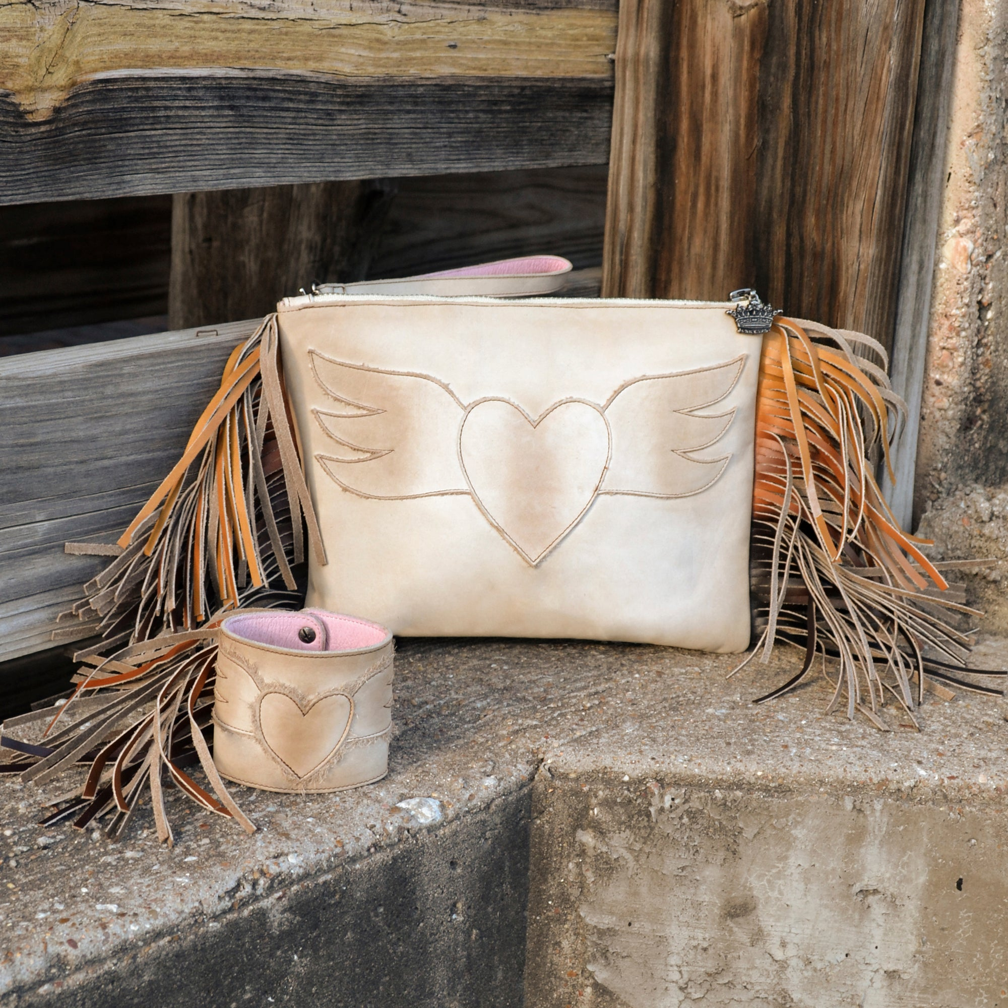 Junk Gypsy Spirit Animal Wristlet Bags by Lane Handmade Boots