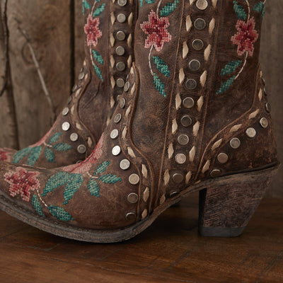 Junk Gypsy Wild Stitch Ladies Boot Western Contemporary Boots Handmade by Lane