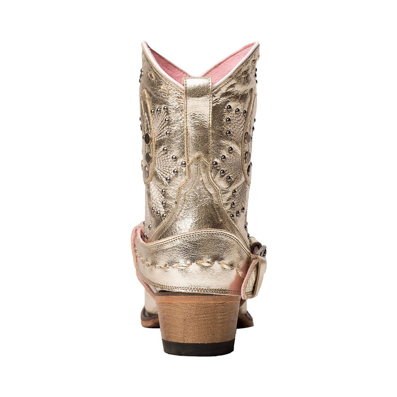 Junk Gypsy Lady Fortuna  Western Cowgirl Ankle Boots