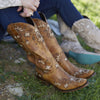 Lane Sweet Paisley Ladies Boot by Lane Handmade Boots