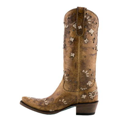 Lane Sweet Paisley Ladies Boot by Lane Boots