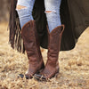 Plain Jane Boot Ladies Boot | Size Cognac 5 Lane | Lane Boots