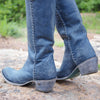 Lane Plain Jane Boot Ladies Boot Western Contemporary Boots Handmade by Lane