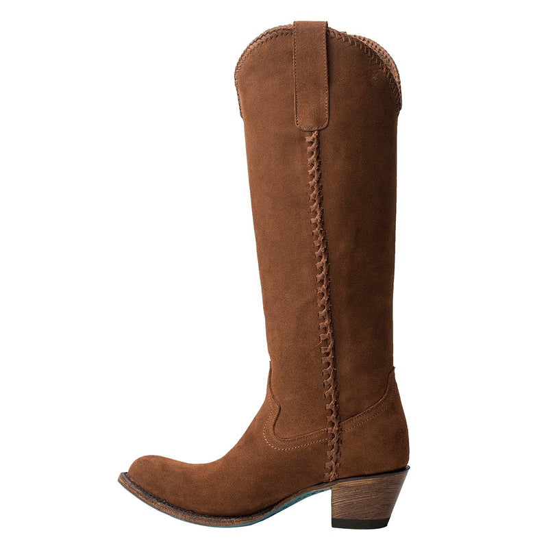 Lane Plain Jane - Suede Limited Edition Ladies Boot  Cowgirl Western