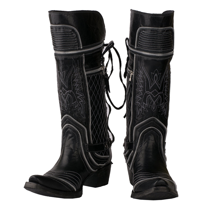 Lane Direct Zip It Ladies Boot Western Contemporary Boots Handmade by Lane