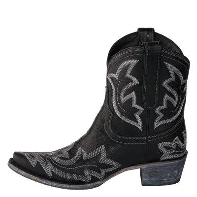 Lane Saratoga Ankle Bootie Ladies Bootie Western Contemporary Boots Handmade by Lane