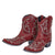 Lane Saratoga Stud Bootie Ladies Bootie Western Contemporary Boots Handmade by Lane