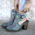 Lane Floral Halfsie Bootie Ladies Bootie by Lane Handmade Boots