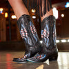Old Glory Ladies Boot Ladies Boots | Size Jet Black 5 Lane | Lane Boots
