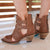 Lane Artesia Ladies Bootie Western Contemporary Boots Handmade by Lane