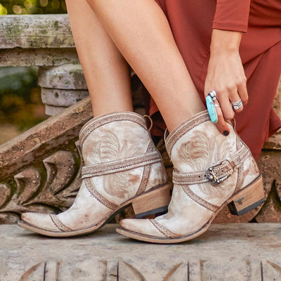 Ballyhoo Bootie Ladies Bootie | Size Dusty Tan 5 Lane | Lane Boots