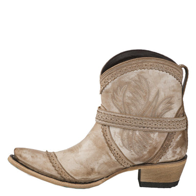 Lane Ballyhoo Bootie Ladies Bootie Western Contemporary Boots Handmade by Lane