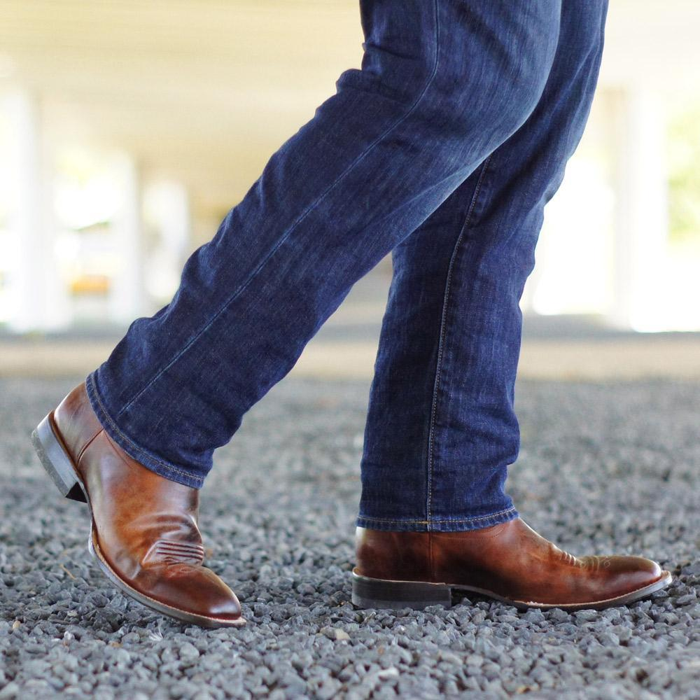Give It a Shot Mens Boots | Size Mahogany 7.5 Lane | Lane Boots