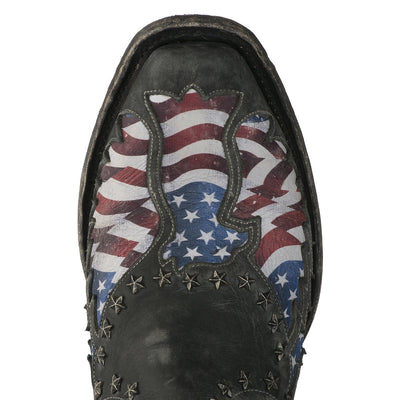 Old Glory Mens Stone Washed Mens Boots | Size   Lane | Lane Boots