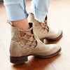 London Secrets Bootie Ladies Bootie | Size Alabaster 5 Patina Vie | Lane Boots
