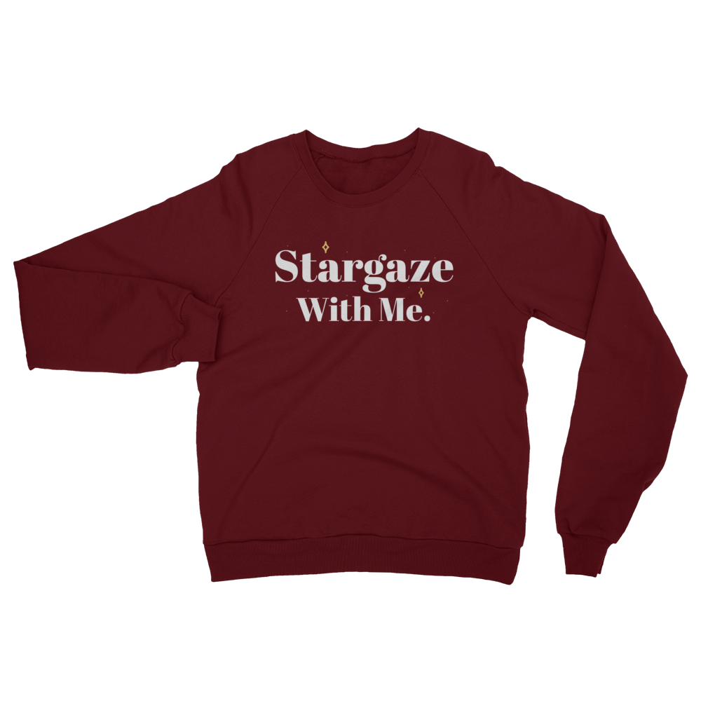 Stargaze With Me Raglan Sweater