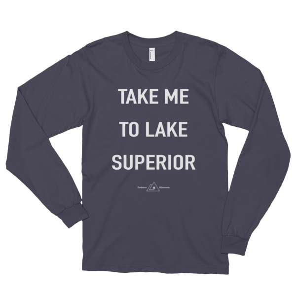 'Take Me To Lake Superior' Long Sleeve Tee
