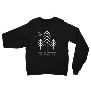 Northern Pine Unisex Raglan Sweater