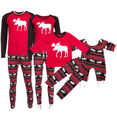 Christmas Family Matching Pajamas Clothing Set