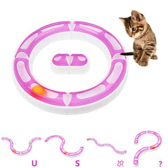 Ball and Track Cat Toy